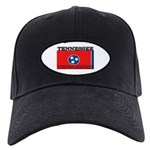 Tennessee State Flag Black Cap