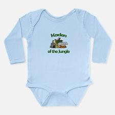 Kaden of the Jungle Long Sleeve Infant Bodysuit