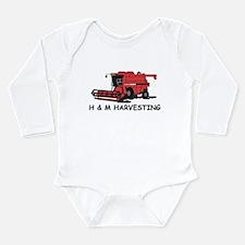 Cute Combine Long Sleeve Infant Bodysuit