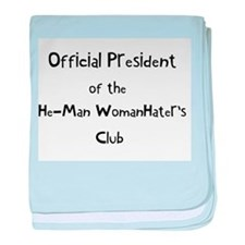 Official He Man Woman Hater's baby blanket