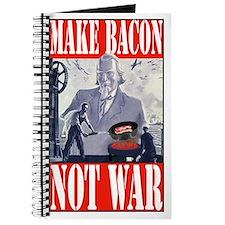 Make Bacon Not War Journal