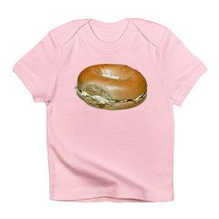Bagel and Cream Cheese Infant T-Shirt