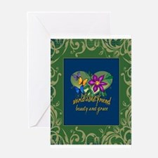 Beautiful Friend Greeting Card