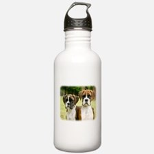 Boxer puppies 9Y049D-064 Water Bottle