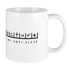 Architecture anti sleep Small Mug