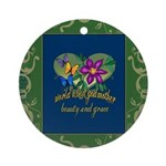 Beautiful Godmother Ornament (Round)