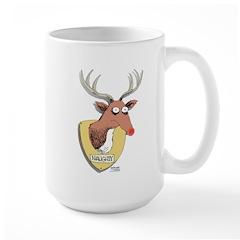 Naughty Reindeer Design Mug