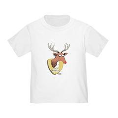 Naughty Reindeer Design T