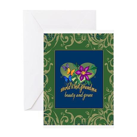 Beautiful Grandma Greeting Card