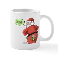 Lost Santa Elf Design Mug