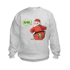 Lost Santa Elf Design Sweatshirt