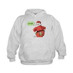 Lost Santa Elf Design Hoodie