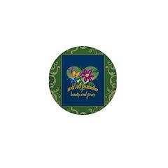 Beautiful Grandmother Mini Button (10 pack)
