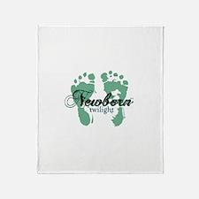 Newborn Twilight Throw Blanket