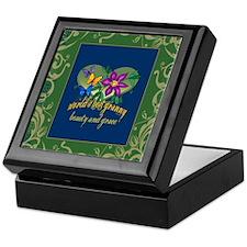 Beautiful Granny Keepsake Box