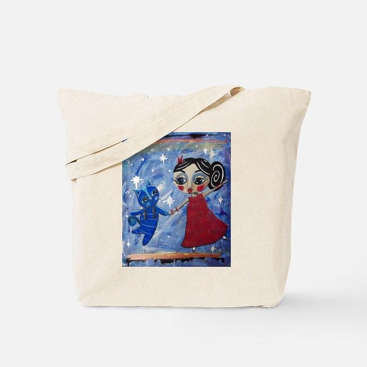 Cute Bristol girl Tote Bag