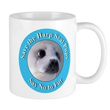 Anti-Fur Harp Seal Pup Mug