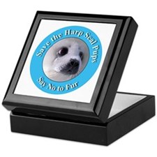 Anti-Fur Harp Seal Pup Keepsake Box
