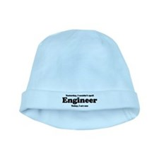 Can't spell Engineer baby hat