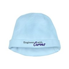 Engineer with Curves baby hat