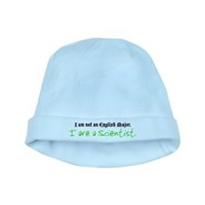 I are a Scientist baby hat