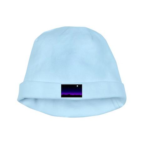 Desert Night baby hat