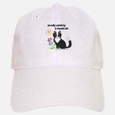 """Rescued Cat"" Baseball Baseball Cap"