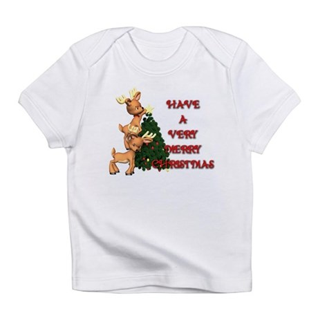 Reindeer Christmas Infant T-Shirt