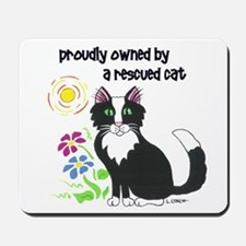 """Rescued Cat"" Mousepad"