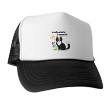"""""""Rescued Cat"""" Trucker Hat"""
