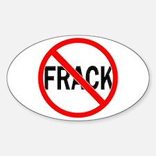 Frack No Sticker (Oval)