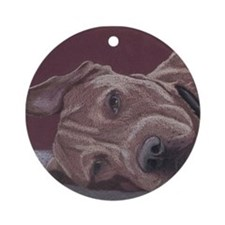 Dog Tired Ornament
