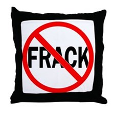 Frack No Throw Pillow