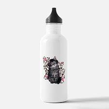Cute Kitten Kitty Cat Lover Water Bottle