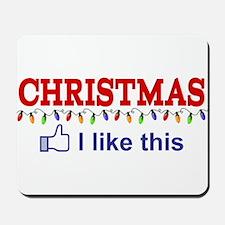 Christmas - I like this Mousepad