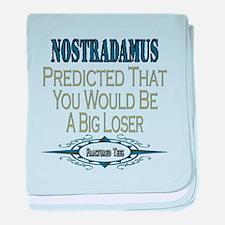 Nostradamus baby blanket