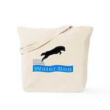 Cute Newfoundland dog Tote Bag