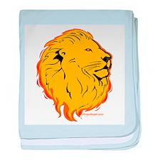 Lion Flame Art baby blanket