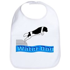Funny Working newf designs Bib