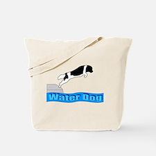 Cute Landseer newfoundland Tote Bag