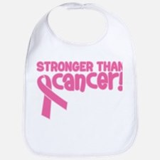 STRONGER THAN CANCER (Breast) Bib
