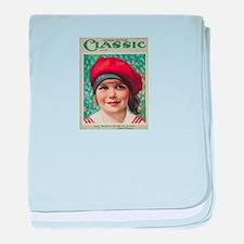 Jackie Coogan 1925 baby blanket