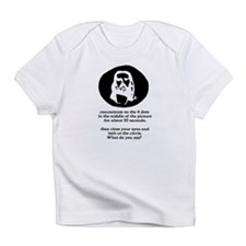 Concentrate on the 4 dots... Infant T-Shirt