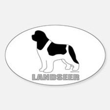 LANDSEER Sticker (Oval)