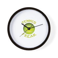 CRAZYFISH tennis freak Wall Clock