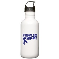 STRONGER THAN CANCER (Colon) Water Bottle