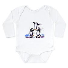 playful penguins_bl Body Suit