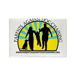 Parents Against Dog Chaining Rectangle Magnet (10