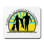 Parents Against Dog Chaining Mousepad