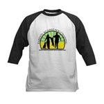 Parents Against Dog Chaining Kids Baseball Jersey